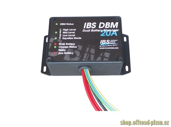 IBS DBM Incar Nabíječka 20A 12 / 12V
