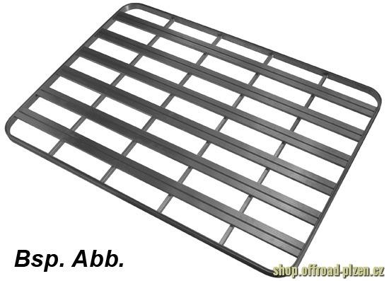 Uprack nosič alu 2446x1477mm černý