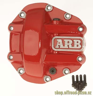ARB víko diferenciálu zesílené, červené