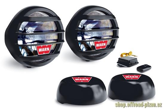 Dálkové světlomety Warn W650D s dálkovým ovládáním