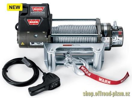 Naviják WARN M8000, 12V, 3600kg