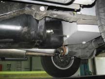 Long Ranger přídavná nádrž Nissan D40 TD