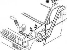Safari šnorchl Nissan D21
