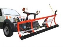 """SNO-WAY sněžný pluh """"Series 22"""" 150x55 cm s nivelací, vč. Dálkového ovládání"""