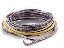 Dynatec syntetické lano k navijáku 38 m x 9 mm