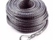 Dynatec syntetické lano k navijáku 50 m x 9 mm