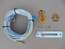 Dynatec syntetické lano k navijáku 30 m x 9 mm