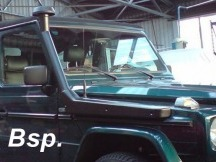 Zvýšené sání Mercedes G, všechny modely