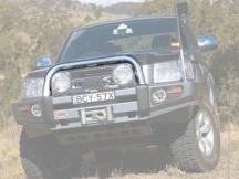 Hliníkový ARB oblouk pro Saharabar