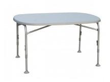 Hliníkový stůl Campico Oval 130