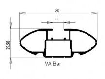 RhinoRack tyč Vortex 1180 mm