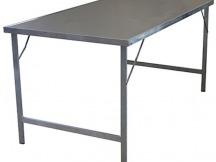 Upracks stůl camping nerez vrchní deska