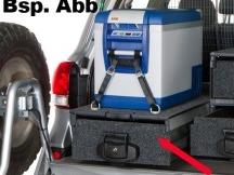 Outback zásuvka 505x945x280 mm s výsuvem na lednici