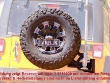 ARB držák rezervy Jeep Wrangler JK texturovaný povrch