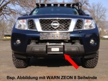 Montážní sada  Nissan D40 + Pathfinder,s navijákem WARN Zeon 8