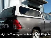 ARB nástavba Classic Toyota Hilux Revo 16+ Extra Cab Cab, boč posuv okna CLS63A