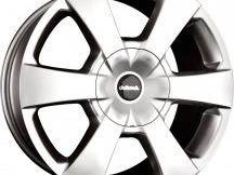 ALU disky 8x17 6x114,3 Et +40, stříbrné